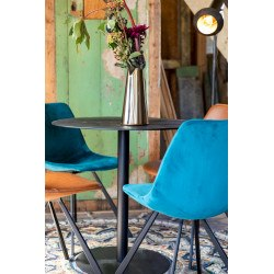 Table ronde industriel bistro Braza - Dutchbone