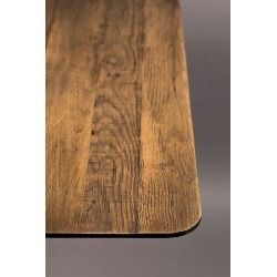 Table ronde industriel bistro Braza - Dutchbone