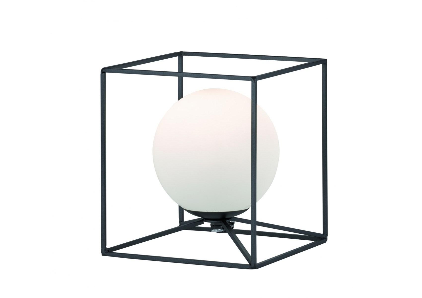 grande lampe poser en m tal et verre gabbia trio. Black Bedroom Furniture Sets. Home Design Ideas