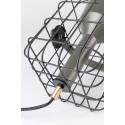 Lampe à poser industriel en métal Cage