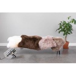 Peau de mouton 100% laine Shirley