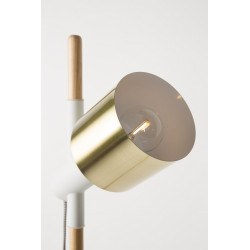 Lampadaire scandinave 2 lampes Ivy - Zuiver