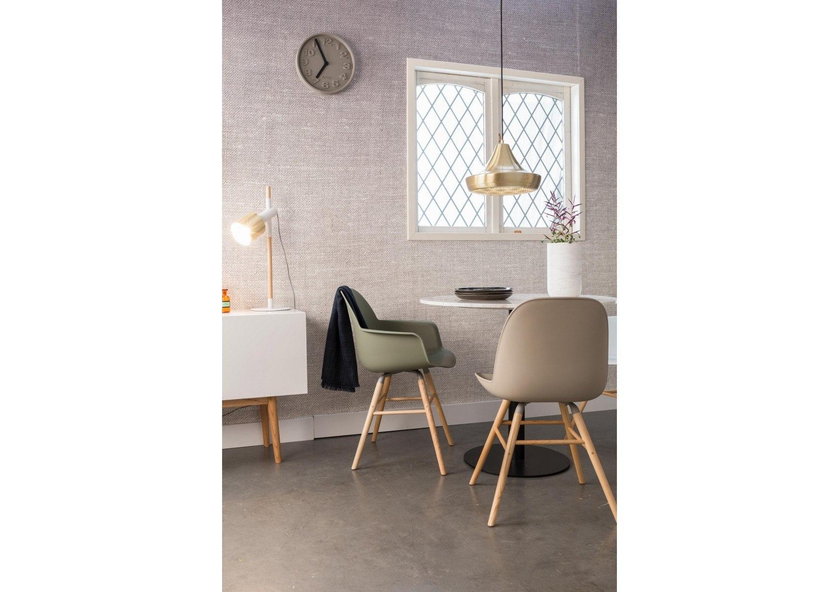 lampe poser scandinave en bois et m tal ivy zuiver. Black Bedroom Furniture Sets. Home Design Ideas