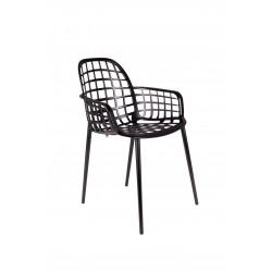 Lot 2 chaises en métal ALBERT KUIP jardin - Zuiver