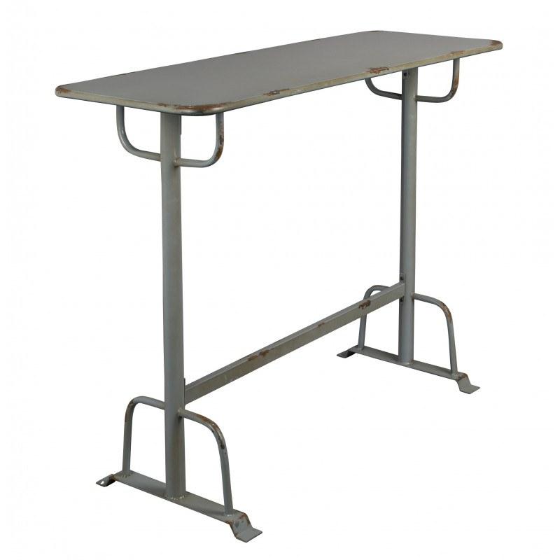 Table de bar vintage en métal Declan - Dutchbone