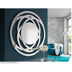 Miroir rond design Aros