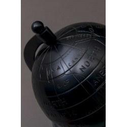 Globe terrestre de décoration en aluminium MILES