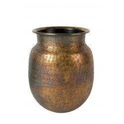 Vase bohème en métal BAHA - Dutchbone