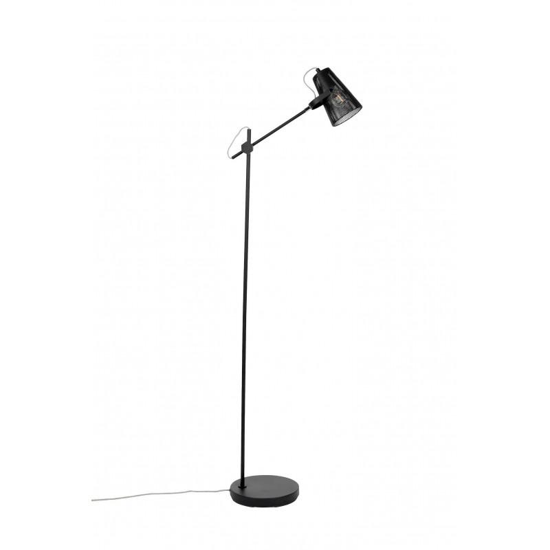 Lampadaire moderne en métal noir - FOKUS