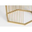 Table d'appoint en métal doré Zuiver - Queenbee
