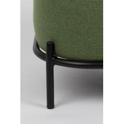 Pouf design en tissu Polly - Boite à design
