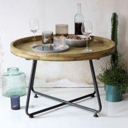 Table basse industriel bois et métal Westwood - RedCartel
