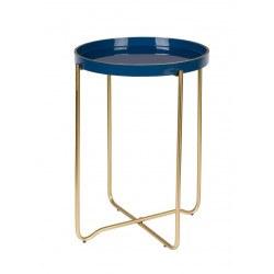 Table d'appoint ronde émaillée Boite a design - CELINA