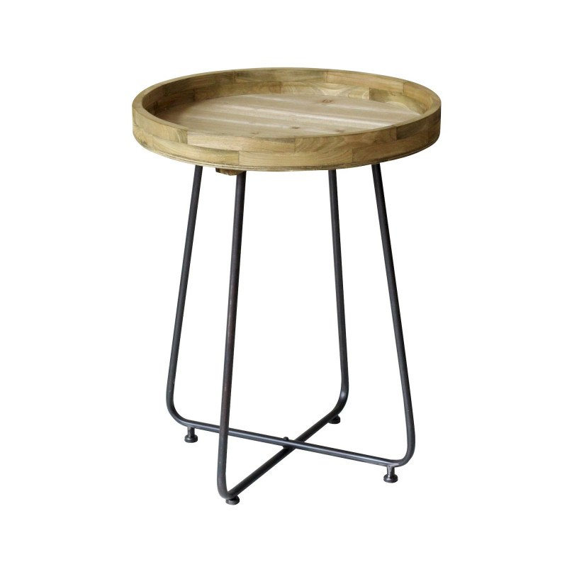 Table basse industriel bois et métal Westwood 62 cm - RedCartel