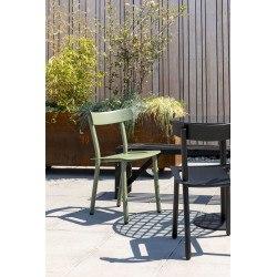 Chaise de jardin bistrot en métal Dutchbone - FRIDAY