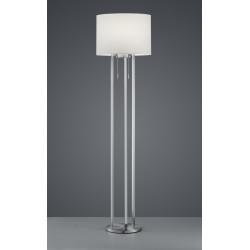 Lampadaire design double éclairage Led - TANDORI