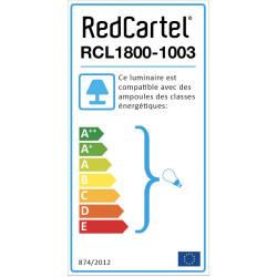 Suspension industriel tuyau Métropolis - RedCartel