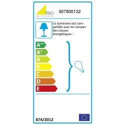 etiquette energie lampe Liège