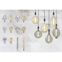 Ampoule filaments LED, E27, 8W dimmable