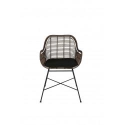 fauteuil en rotin synthétique