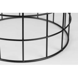 Table d'appoint métal et terrazzo Boite à design - TRAD