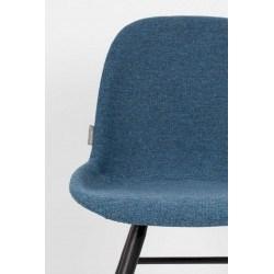 Lot de 2 chaises scandinaves ALBERT KUIP SOFT tissu - Zuiver