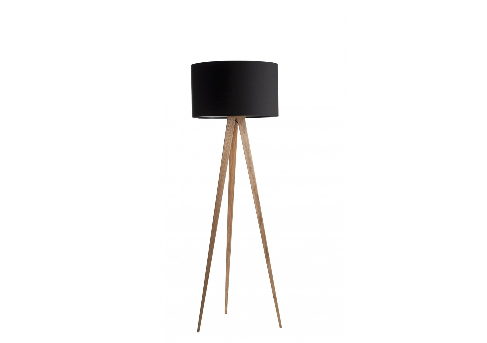 lampadaire tripod wood au look scandinave de chez zuiver. Black Bedroom Furniture Sets. Home Design Ideas