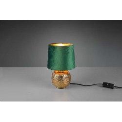Lampe à poser vintage SOPHIA en velours