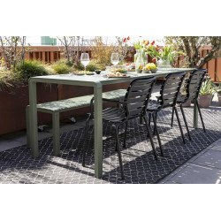 Lot de 2 chaises de jardin VONDEL - Zuiver