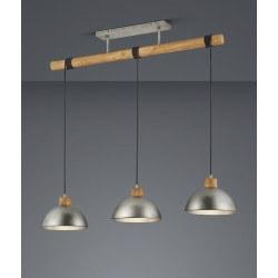Suspension en ligne DELHI vintage 3 lampes - TRIO