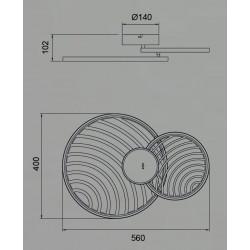 Plafonnier ou applique design COLLAGE 2 - Mantra