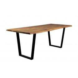Table en bois et métal Aka Dutchbone