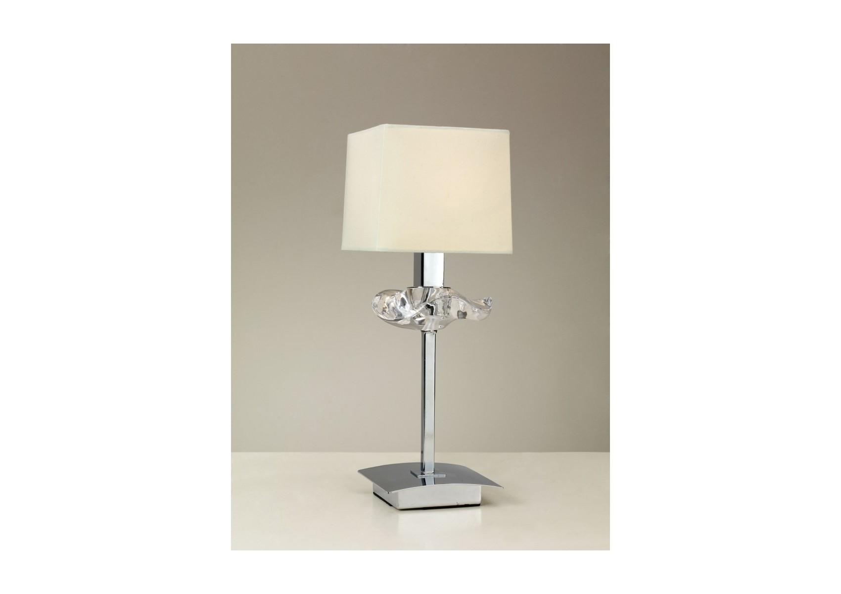 Design Chrome À Lampe Poser 1l Boite Mantra Akira jMVUSzGpqL
