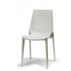 Chaise design imitation rotin Lucrezia Scab design