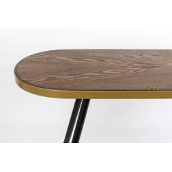 Console d'entrée en bois vintage DENISE - Boite à design