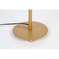 Lampe de table bohème en métal - Lena - Boite à design