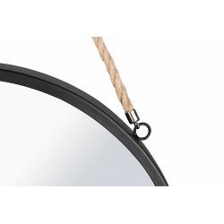 cadre miroir nina en métal avec corde