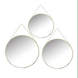 3 miroirs design CORA
