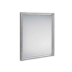 miroir à cadre bois rectangulaire