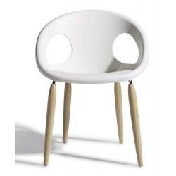 Chaise scandinave NATURAL DROP Scab design