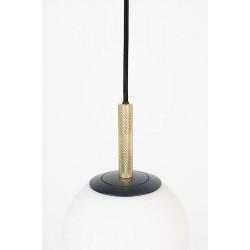 Suspension en verre blanc ORION 18cm par Zuiver