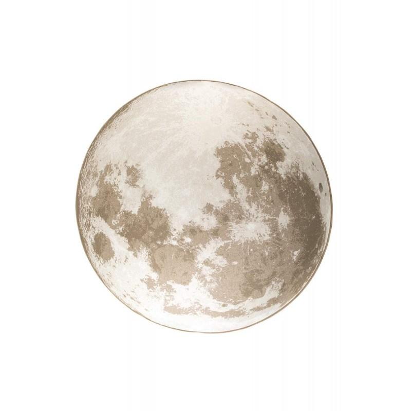 Tapis rond MOON 200cm déco lune - Zuiver