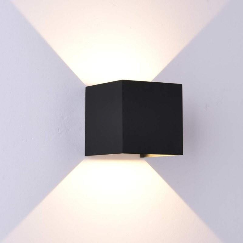 Applique LED extérieure DAVOS bidirectionnelle - Mantra