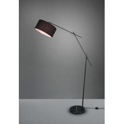 Lampadaire design noir