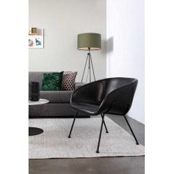 Ambiance design salon lampadaire tripod Lesley