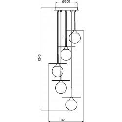 Dimension suspension cascade