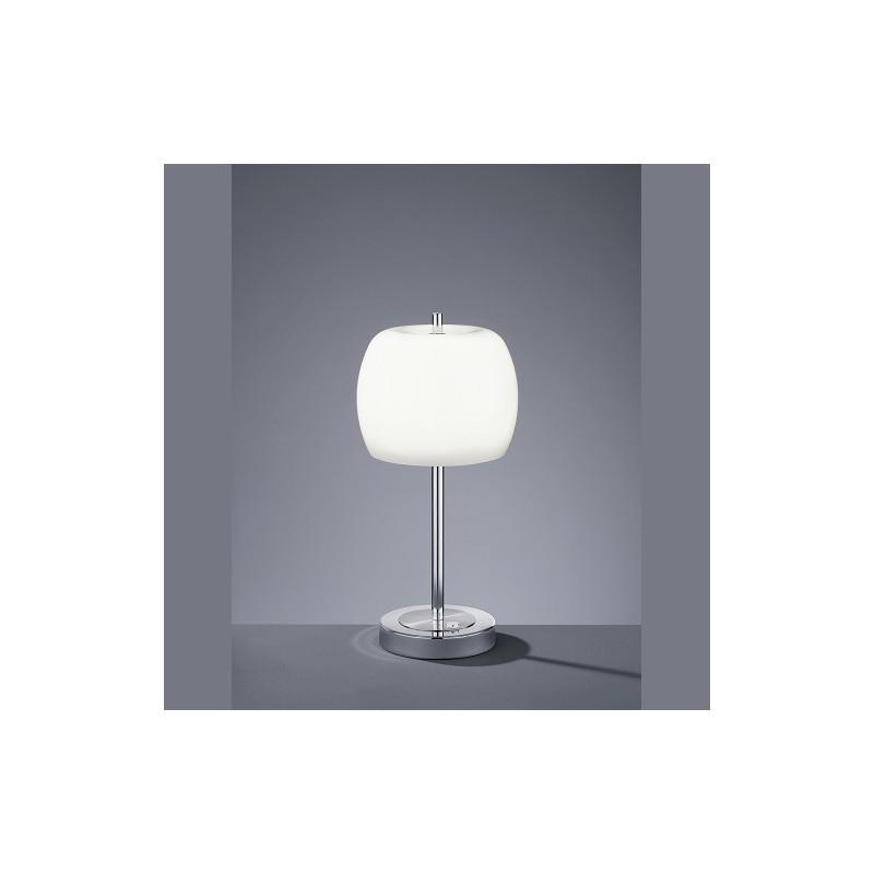 Grande Lampe à poser design Pear en Verre Opale