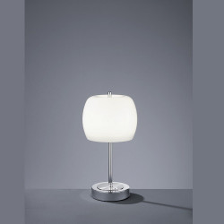 Lampe à poser design Pear en Verre Opale
