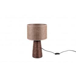 Lampe à poser en rotin STRAW