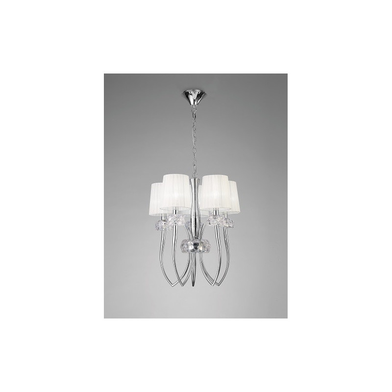 Suspension design Loewe 5 Lampes